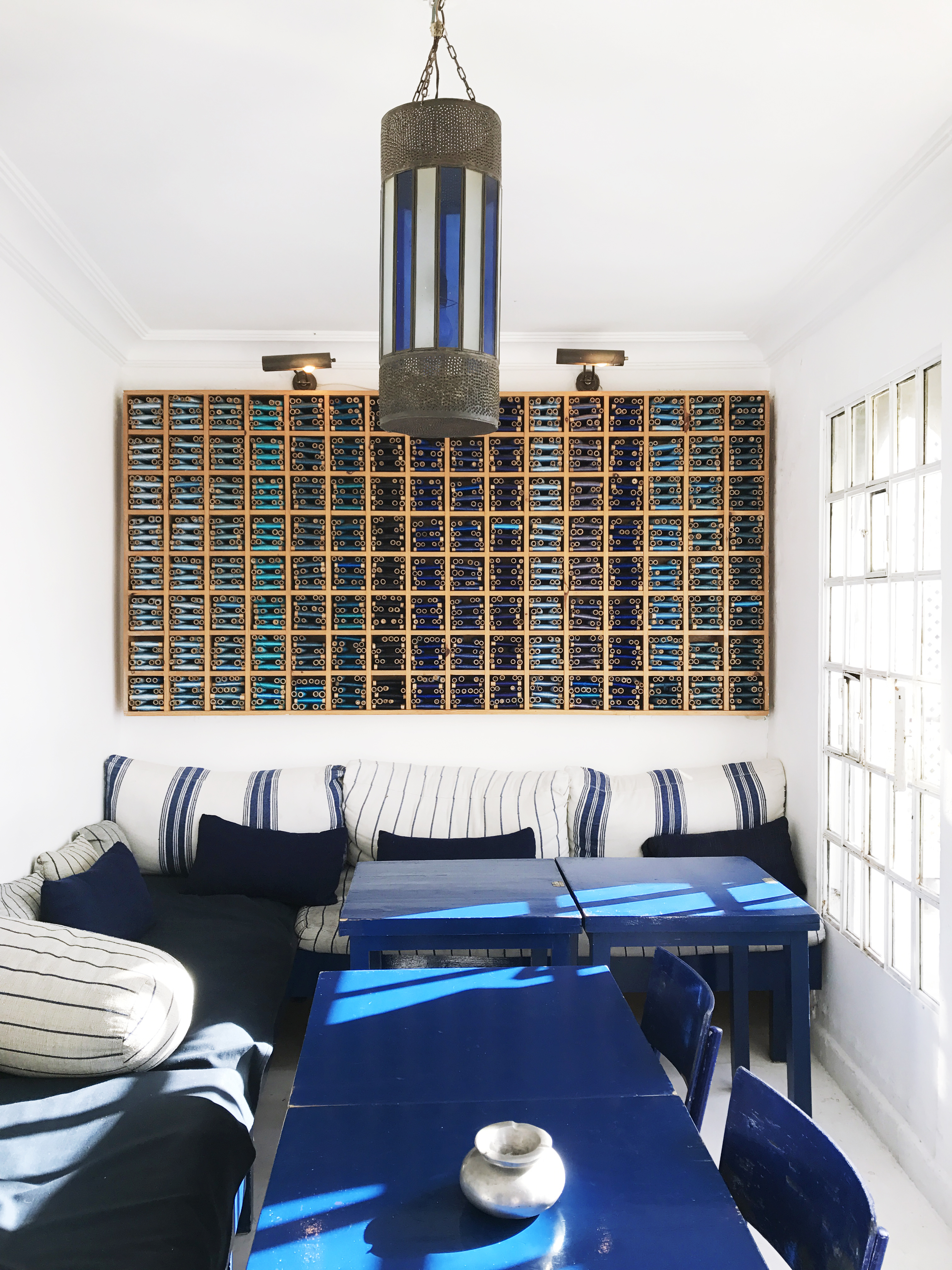 le salon bleu | Tea In Tangier